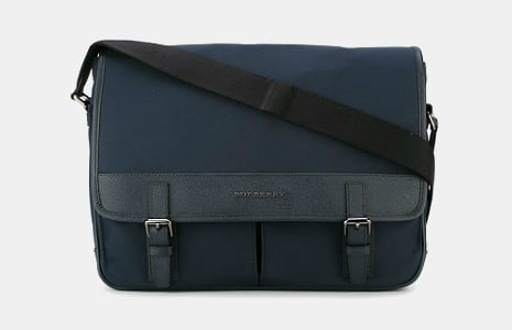 Burberry Buckled Messenger Bag