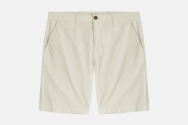 Burberry Tailored Cotton Chino Shorts