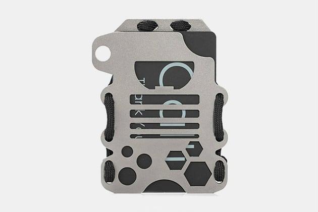 Calti Tactical Titanium Minimalist Wallet