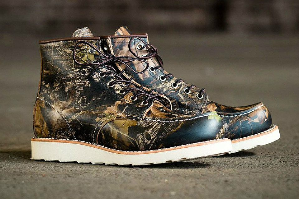 Red Wing Camouflage Moc Toe   GearMoose