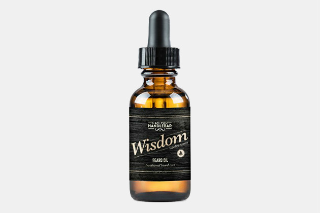 Can You Handlebar Wisdom Beard Oil