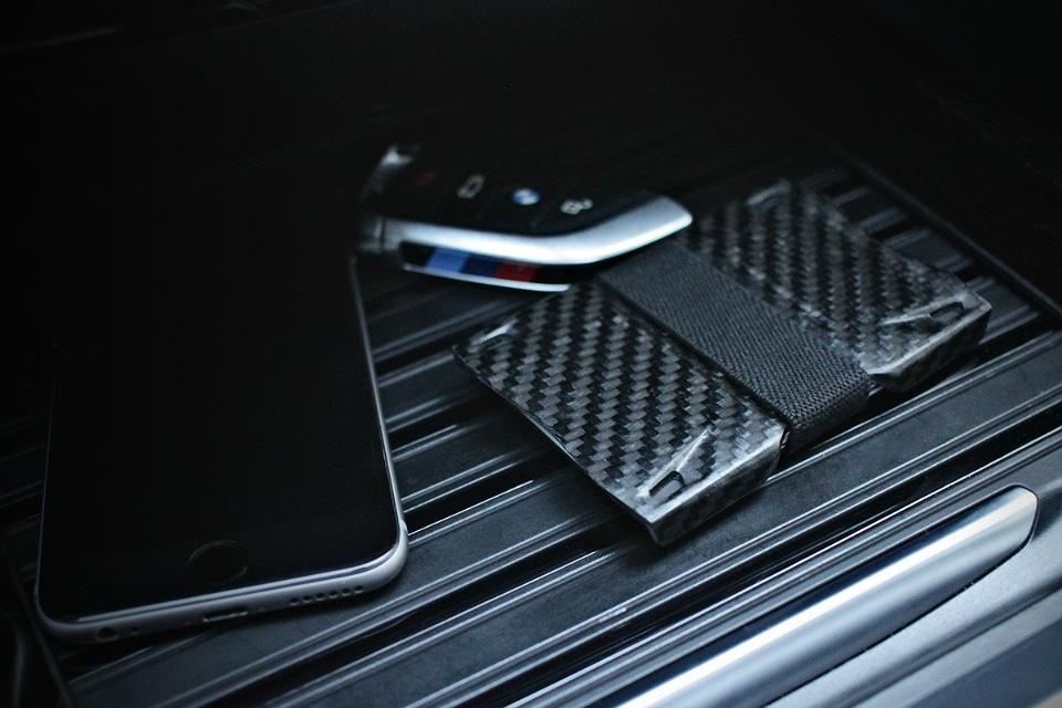 Carbonbuilt 01W Carbon Fiber Wallet