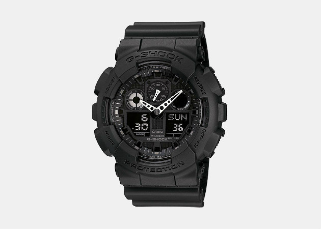 Casio G-Shock Men's Black Resin Strap