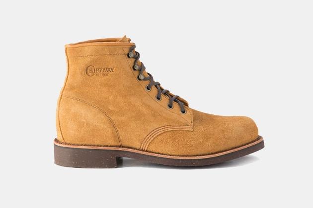 """Huckberry x Chippewa - 6"""" Service Boot"""