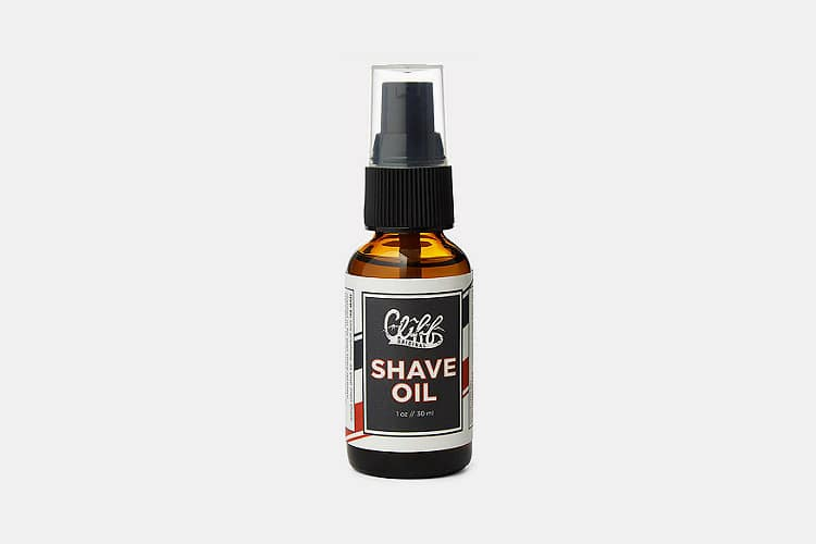 Cliff Original Shave Oil
