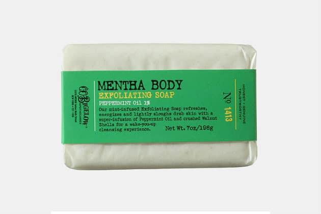 C.O. Bigelow Mentha Exfoliating Body Soap No. 1413