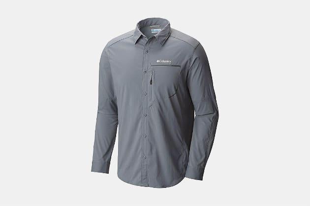 Columbia Titanium Men's Trail Strike LS Shirt