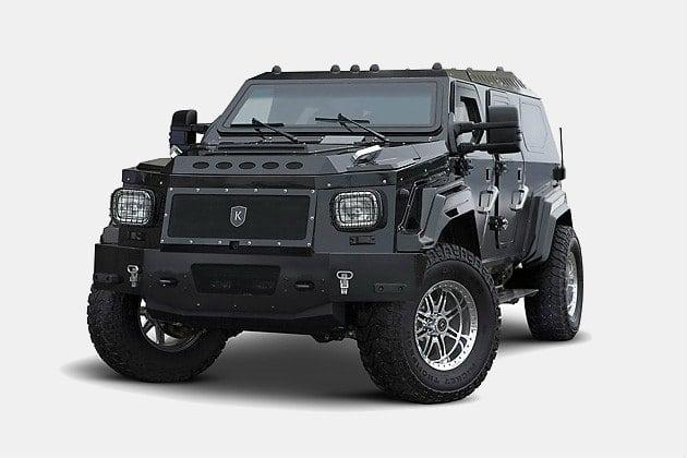 Conquest Knight XV Armored SUV