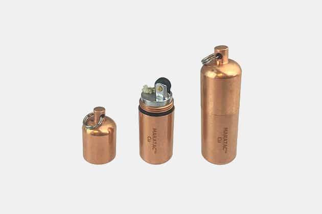 Maratac Copper Peanut Lighter