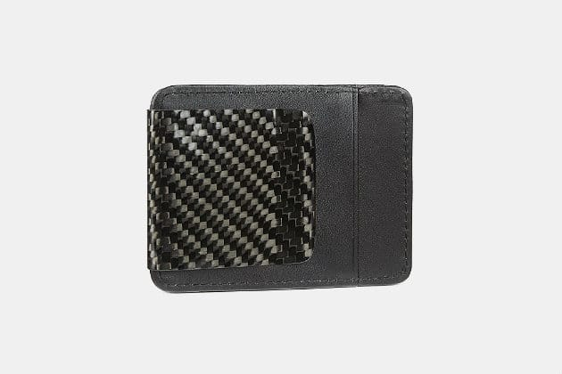 D15 Carbon Fiber Money Clip Wallet