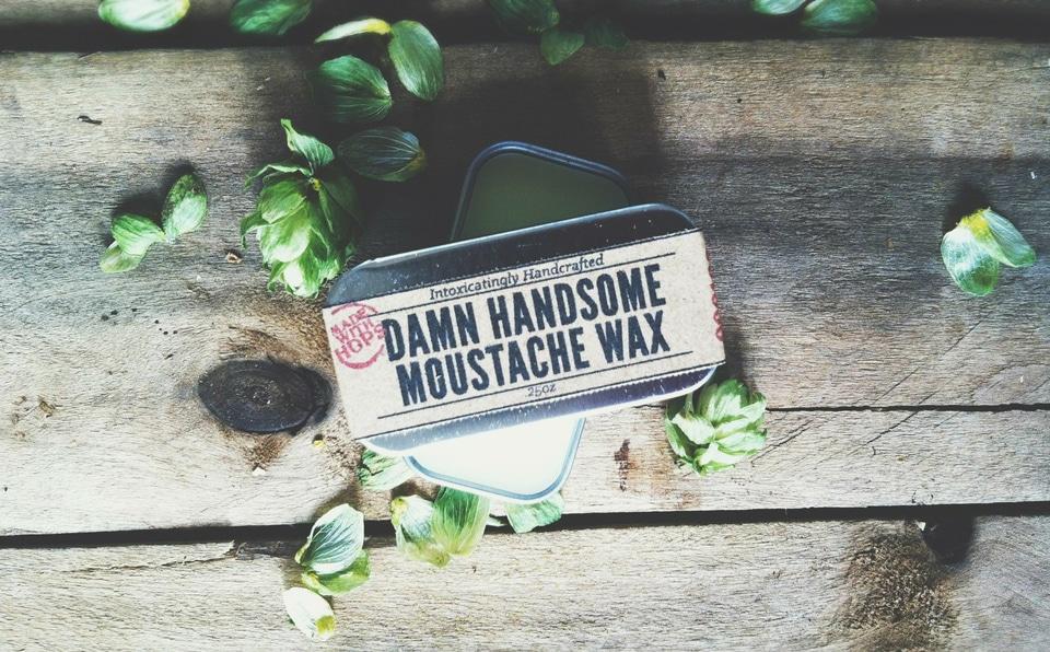 Damn Handsome Moustache Wax