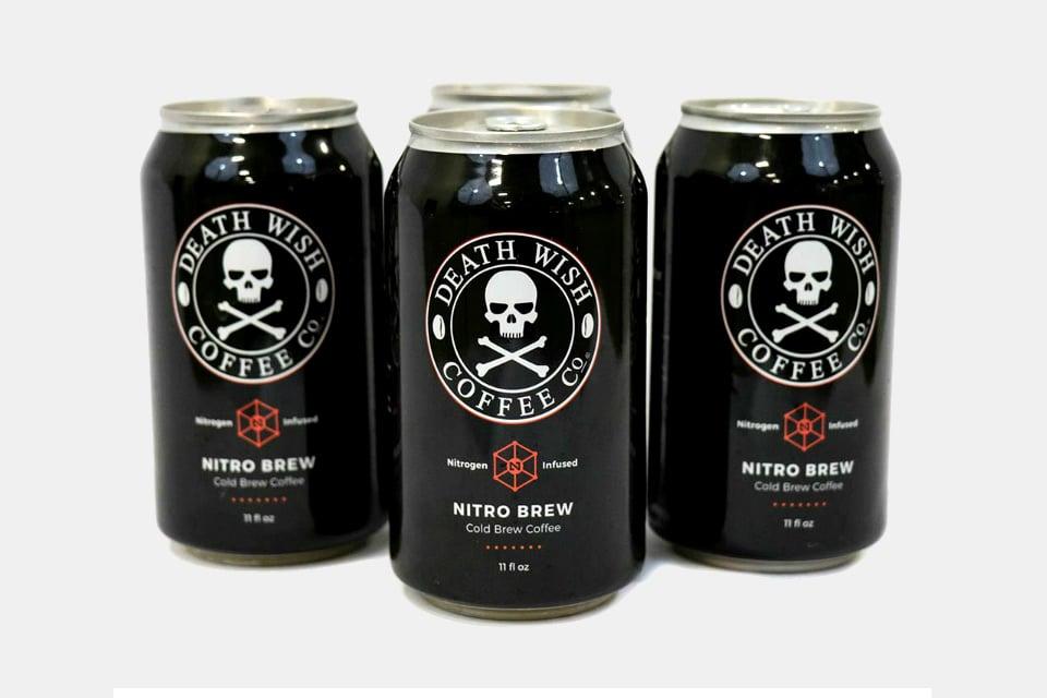 Death Wish Nitro Cold Brew coffee