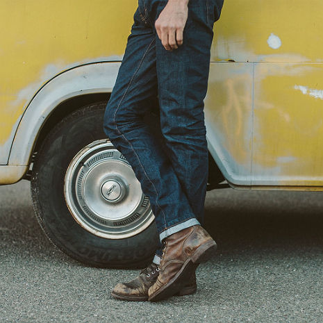 The Democratic Jeans In Cone Mills '68 Selvage