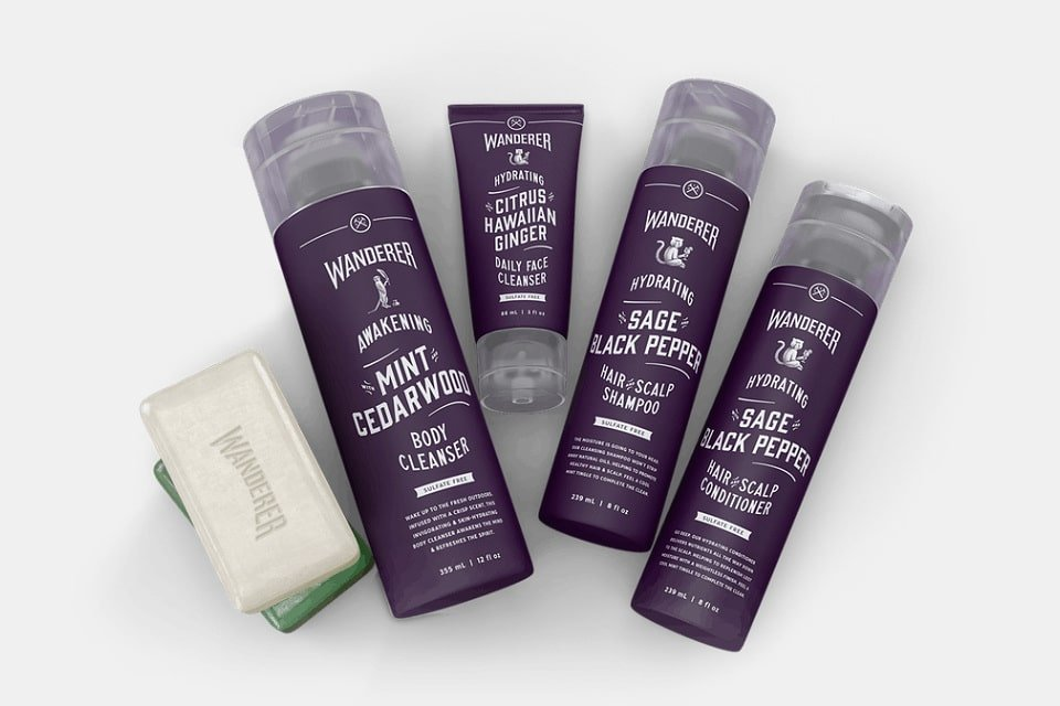 Dollar Shave Club Wanderer Collection