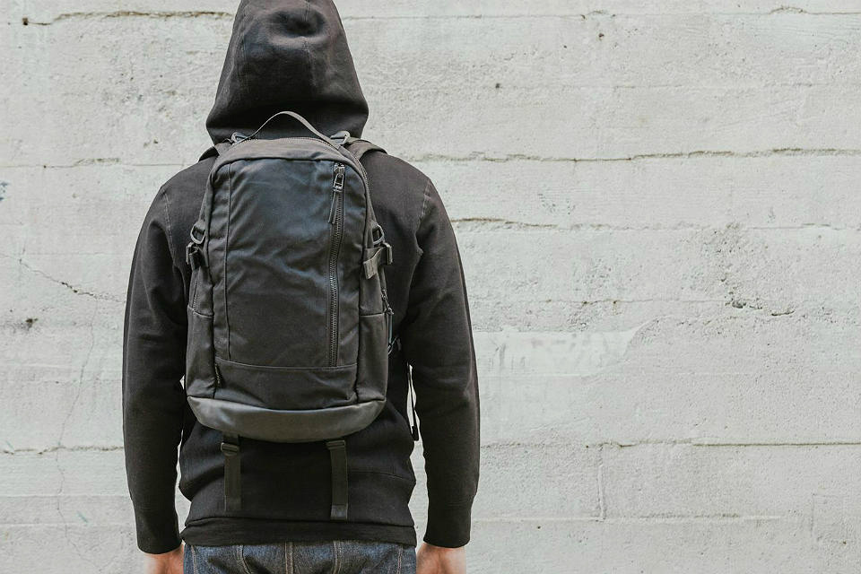 DSPTCH Waxed Canvas Day Pack