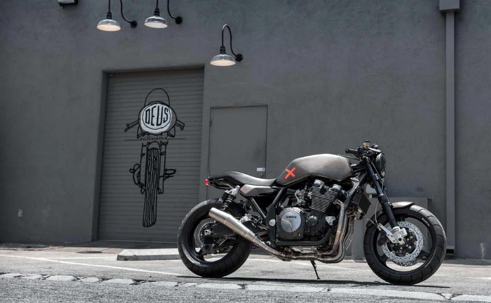 Deus Ex Machina Yard Built Yamaha Project X Motorcycle