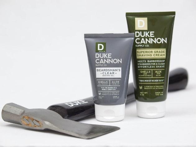 Duke Cannon Beardsman Clear Shaving Gel