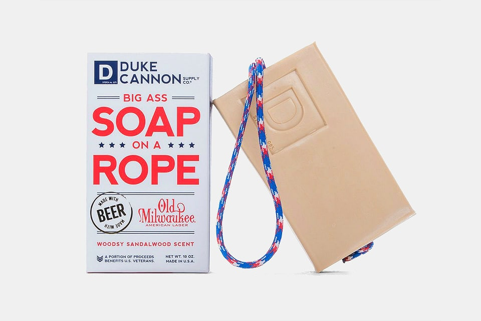 Duke Cannon Beer Soap On A Rope