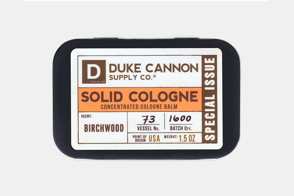 Duke Cannon Special Issue Solid Colognes