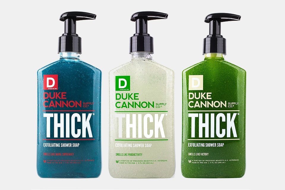 Duke Cannon Thick Shower Soap
