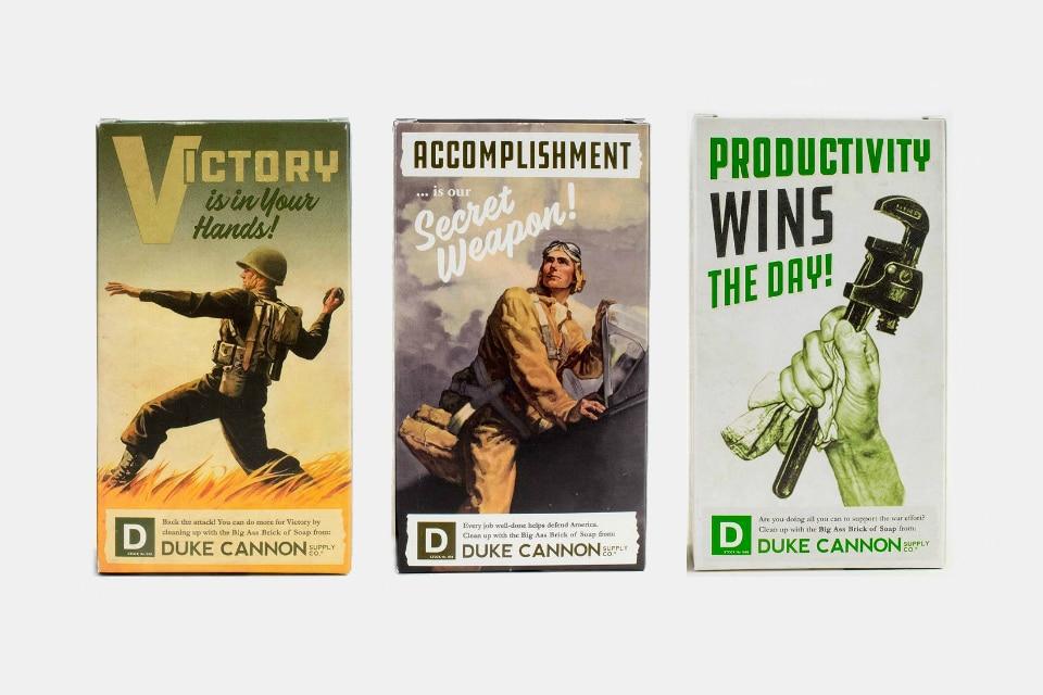 Duke Cannon Limited Edition WWII Era Soaps