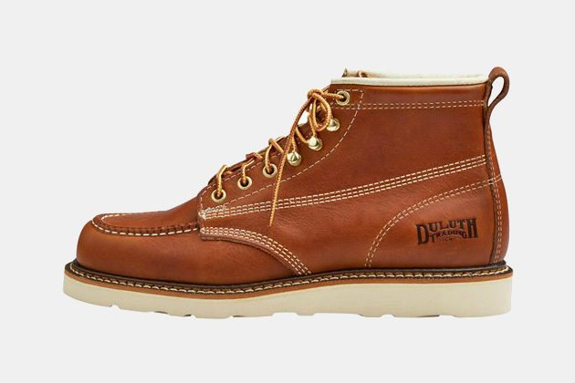 Duluth Trading Contractor's Moc Toe Boots