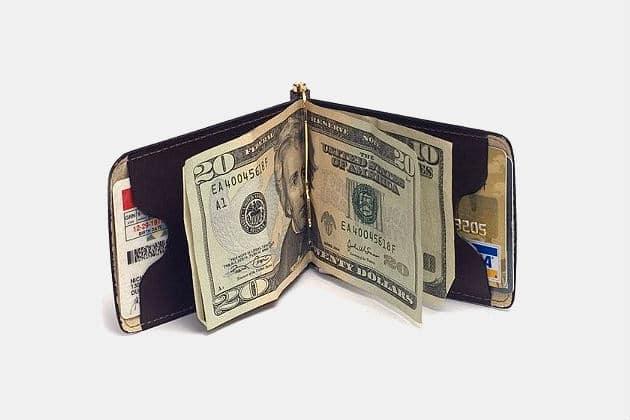 Duluth Pack Money Clip Wallet