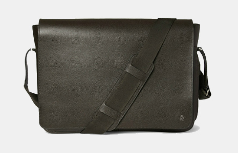 Dunhill Bourdon Leather Messenger Bag