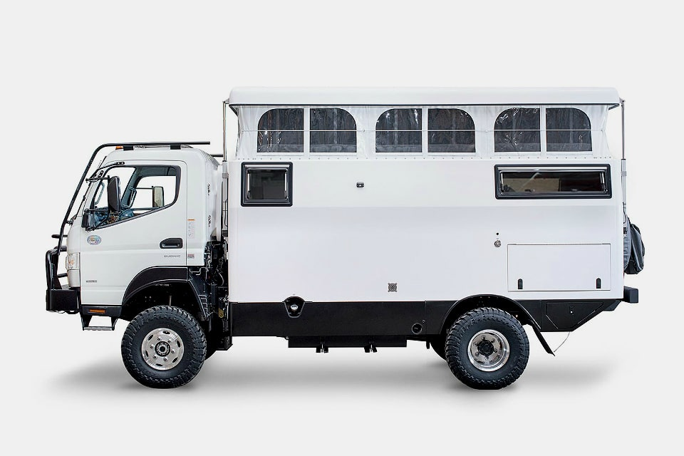Earthcruiser EXP Adventure Vehicle