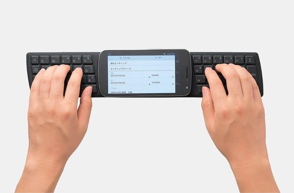 Elecom Wireless Smartphone Keyboard