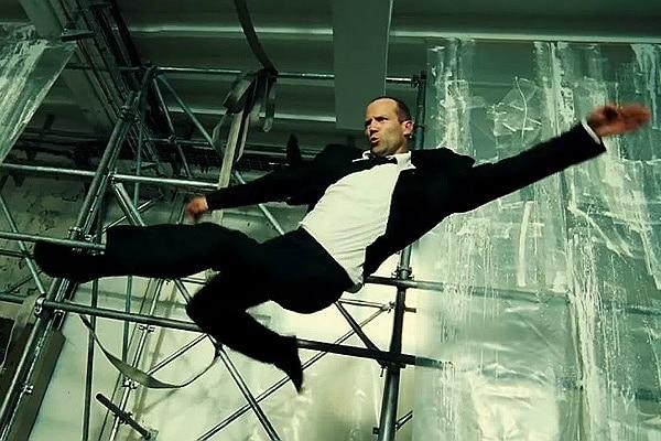 Every Jason Statham Kick Ever