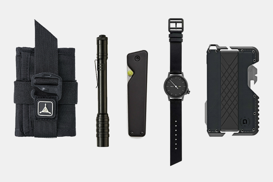 Everyday Carry Tactical Black