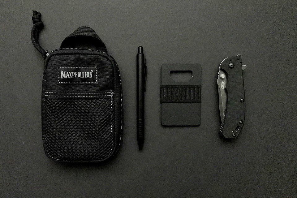 Everyday Carry in Black