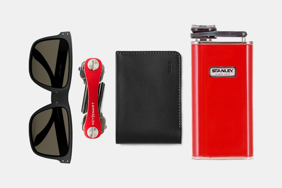 Everyday Carry Red and Black