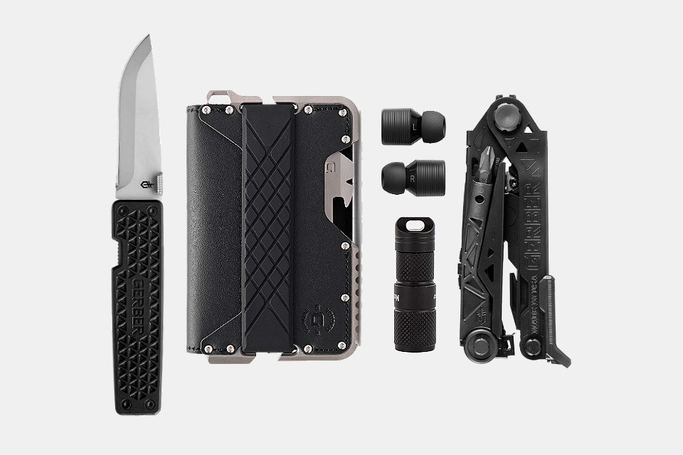 Tactical Black Everyday Carry