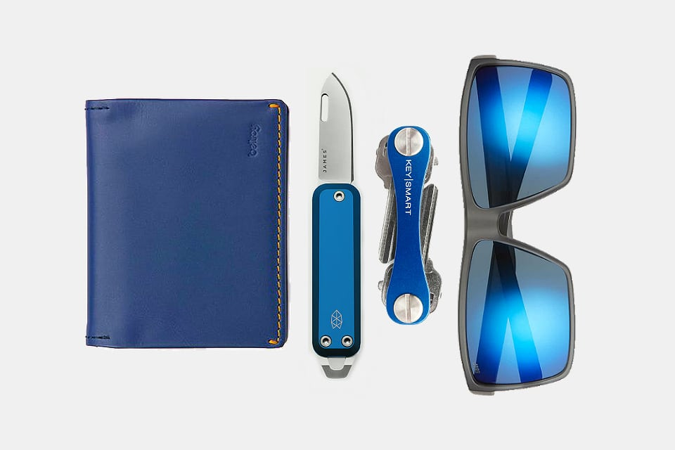 Blue Everyday Carry