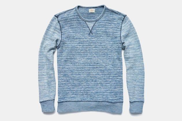 Faherty Brand Ocean Crew Sweater