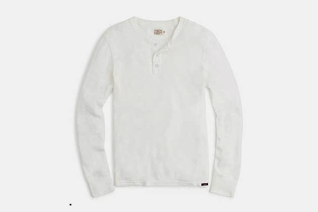 Faherty Brand Slub Cotton Henley