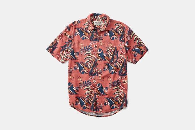 Faherty Brand Hawaiian Shirt