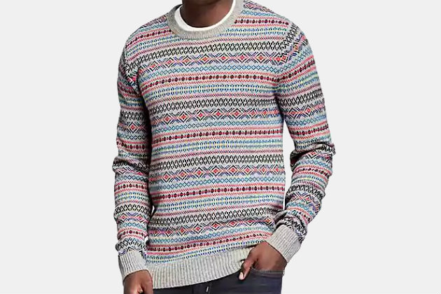 Old Navy Fair Isle Crewneck Sweater