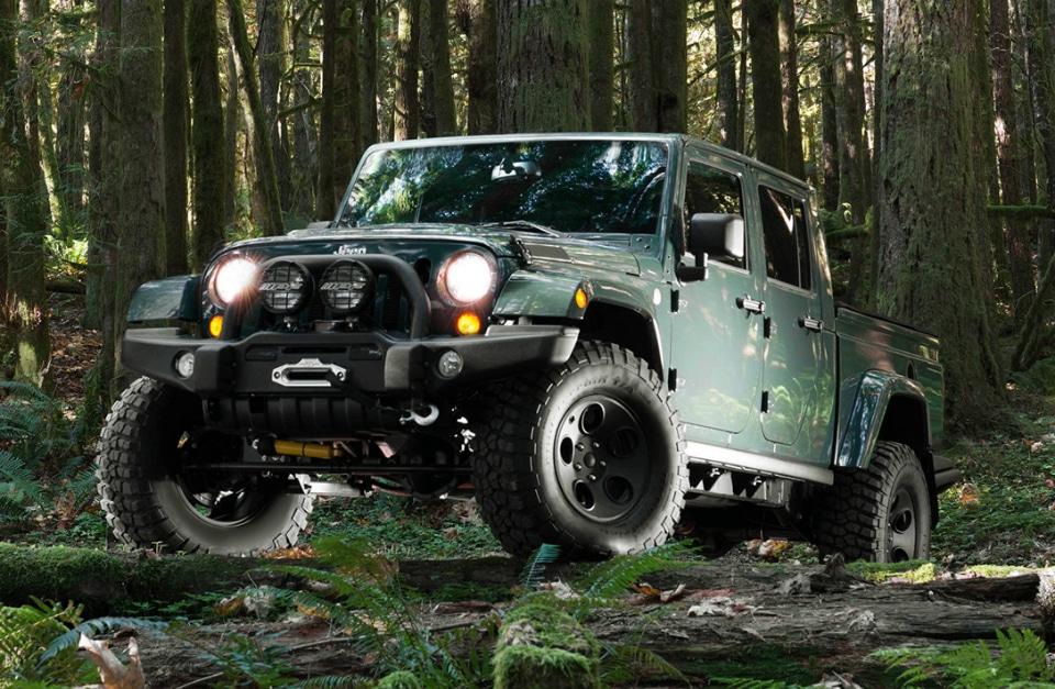 Filson x AEV Brute Double Cab Jeep