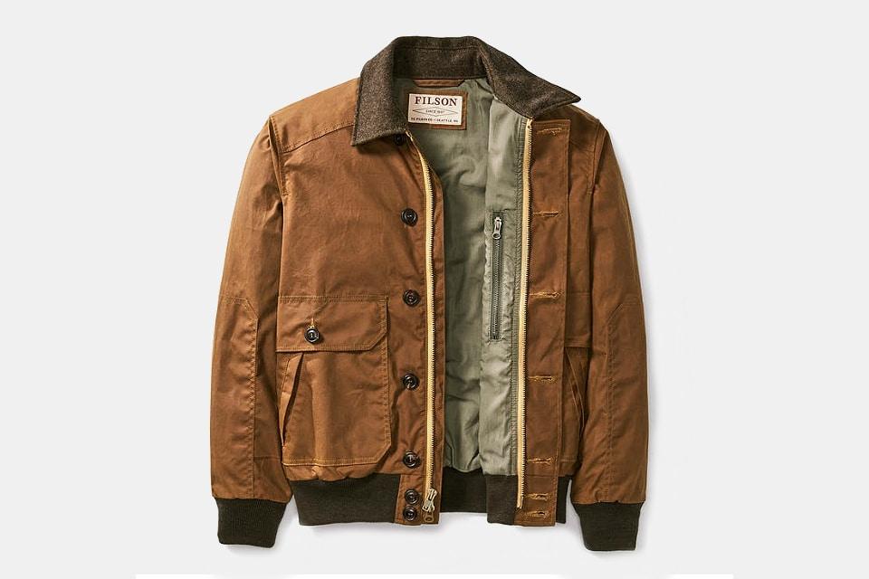 Filson Lightweight Ranger Bomber Jacket