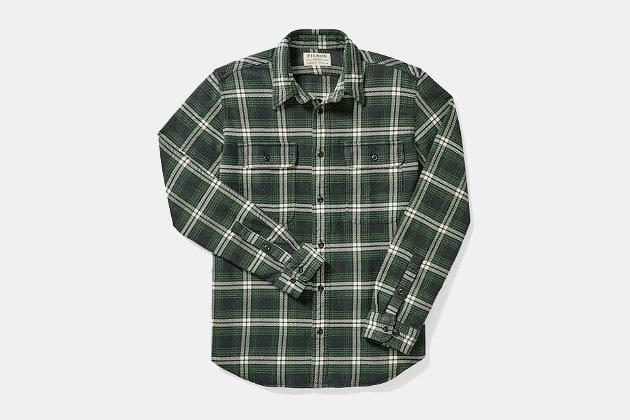 Filson Vintage Flannel Work Shirt