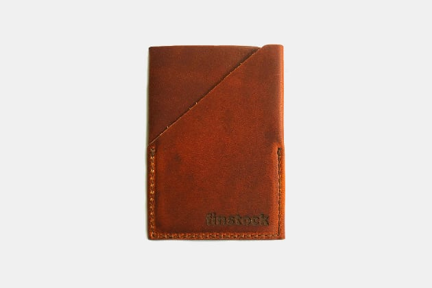 handmade leather wallet mens wallet hand stitching credit card minimalist wallet