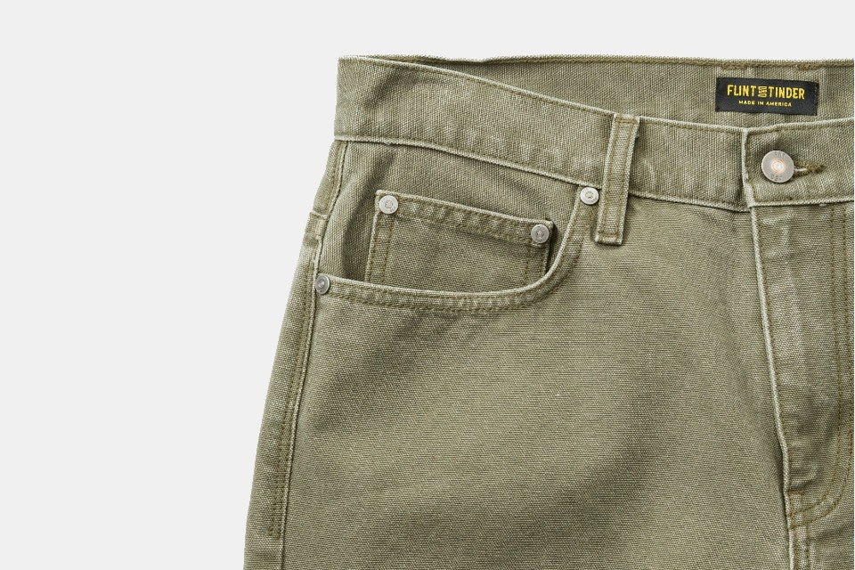 Flint and Tinder Mill Pant