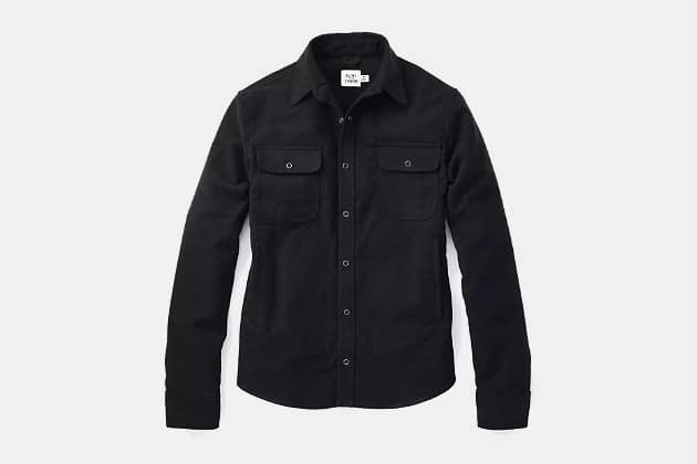 Flint and Tinder Moleskine Shirt Jacket