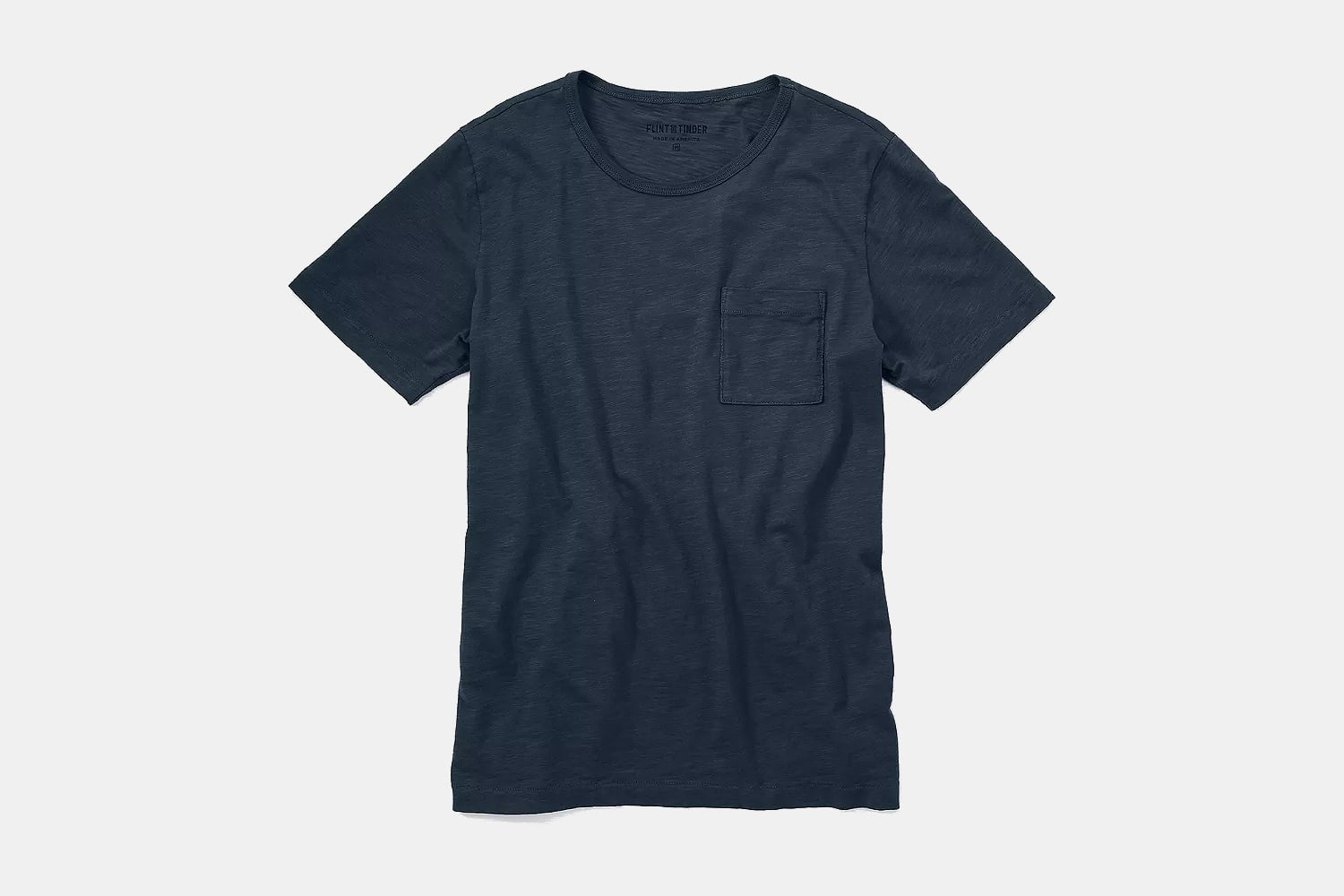 Flint and Tinder Lightweight Slub Pocket Tee