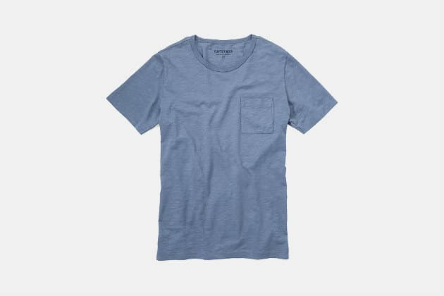 Flint and Tinder Slub Pocket Tee