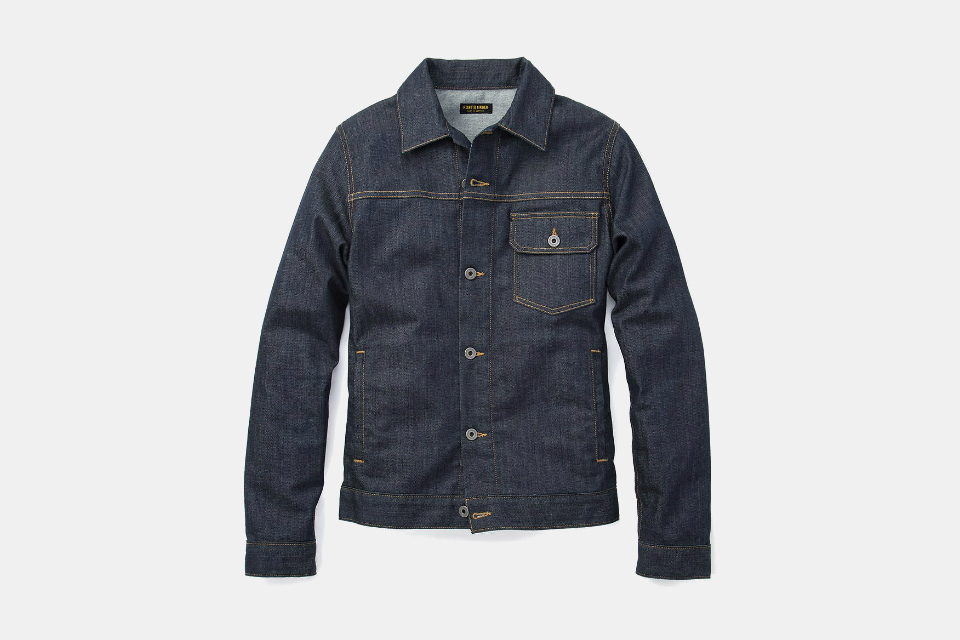 Flint and Tinder Stretch Denim Trucker Jacket