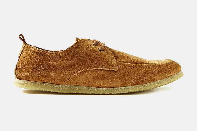 Frank & Oak Suede Moccasin Boat Shoes